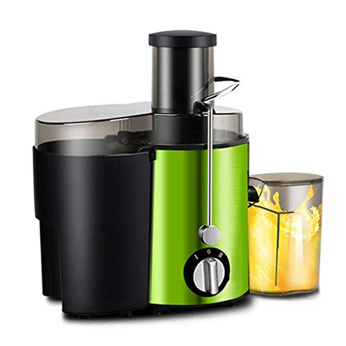 SHIYANLI Juicer Household Automatic Fruit and Vegetable Residue Separation Multi-Function Fried Fruit Juice Machine Mini Small Residue-Free,B