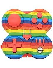 Fidget Pad Controller – Fidget Controller Pad – Rolig leksak för att minska ångest och stress – Cube ABS-plast Fidget Game Pad – Fidget Controller stressreducerande leksak