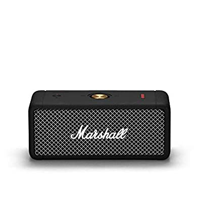 Marshall Emberton Portable Bluetooth Speaker - Black by Zound Industries