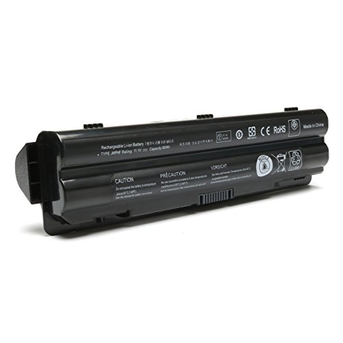 9 Cell Replacement JWPHF Battery for Dell XPS 14 (L401X)/ 15 (L501X)/ 15 (L502x)/ 17 (L701X)/ L702X Laptops; Part Numbers: 312-1123 312-1127 453-10186 R795X WHXY3 J70W7 JWPHF