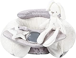 Mumoo Bear Rabbit Sit-Me-Up Baby Seat. Inflatable Sit & Play Floor Seat With Tray And Baby Toys.