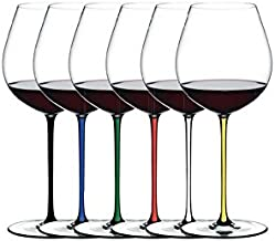 Riedel Fatto A Mano Old World Pinot Noir Gift Set, Set of 6 Assorted