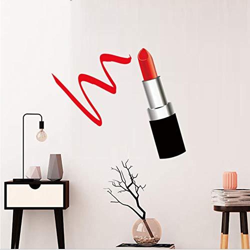 Mode Dame Lippenstift Diy Farbe Wandaufkleber Für Wohnzimmer Schlafzimmer Wanddekor Dame Geschenke...