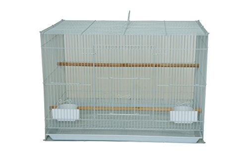 YML Small Breeding Cage, 24 x 16 x 16, White