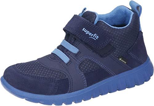 Superfit, Baby - Jungen, Lauflernschuh, Sneaker, BLAU/BLAU 8000, 31 EU