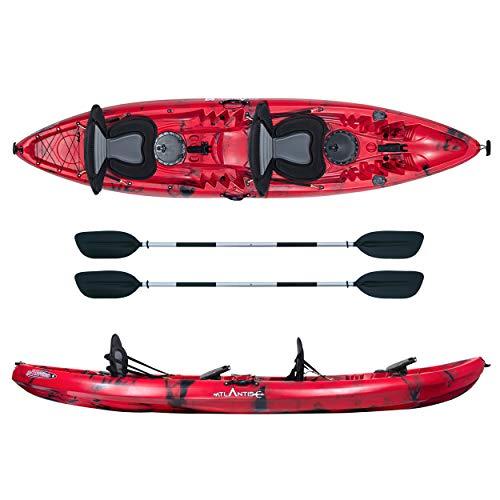 ATLANTIS Kayak-Canoa 2 posti Enterprise cm 370-2 gavoni - 2 seggiolino - 2 pagaie - 2 portacanne