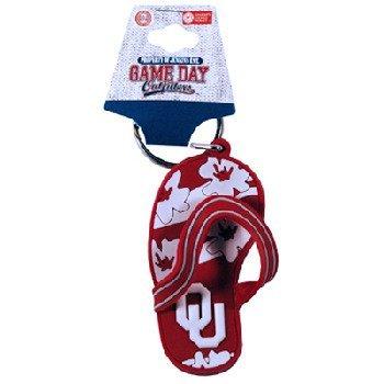 Game Day Outfitters NCAA Oklahoma Sooners Flip Flop Schlüsselanhänger aus PVC