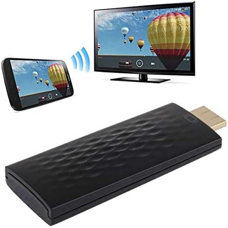 Rundongyiliao HDMI Miracast DLNA Display Dongle, CPU: ARM Cortex A9 Single Core 1.2GHz, Support WiFi + HDMI (Color : Black)