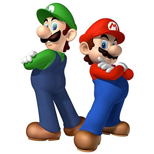Super Mario Bros VINILO Adhesivos de pared Vinilo Extraíble Mural Decoración para el hogar Calcomanía 65 * 92 cm