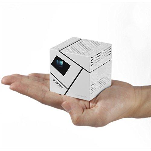 Mini 3D proyector portátil WIFI Soporte Full HD 1080P Android 4.4 ...
