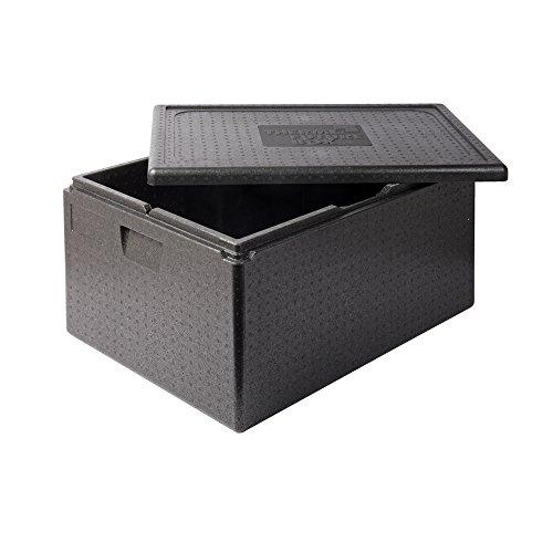 Thermo Future Box 80 L Lunchbox Thermobox Kühlbox, Transportbox Warmhaltebox und Isolierbox mit Deckel,68,6 x 48,5 cm Dinnerbox,Thermobox aus EPP (expandiertes Polypropylen)