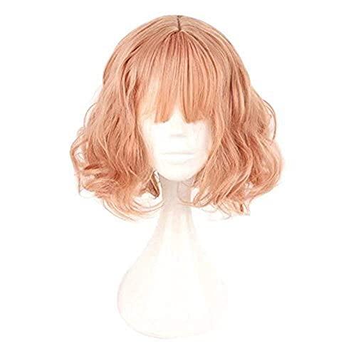 Postales Mujeres 35 cm Bangs plano Sección media Pastel Pastel Pink Hermosa Muchacha DailyPlay WHY666