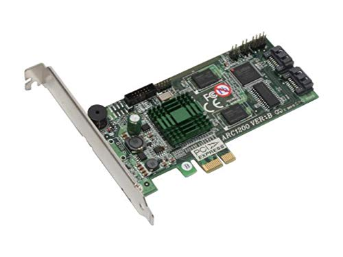 Areca ARC-1200 Tarjeta y Adaptador de Interfaz - Accesorio (PCIe, 0, 1, 500 MHz, 5 - 50 °C, -40 - 70 °C, 15 - 80%)