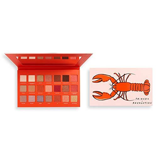 Makeup Revolution X Friends He's Her Lobster Eyeshadow Palette, Multi