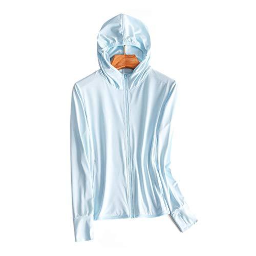 HSF Protezione Solare Abbigliamento Donna Sottile di Estate ha Lavorato a Maglia a Maniche Lunghe della Pelle Ghiaccio Seta Traspirante Protezione UV Signore Protezione Solare di Abbigliamento Giacca