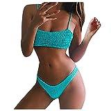 Conjuntos de Traje de Baño Mujer Dos Piezas lencería y Ropa Interior Bikinis Mujer Push up Sexy bañadores Mujer Natación Dividido Ropa de Baño Prenda para la Playa Bikini calzedonia 2021