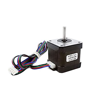 Redrex High Torque Nema 17 Stepper Motor 1.5A 40Ncm/57.1 oz.in for Reprap Prusa i3 3D Printer CNC Machines