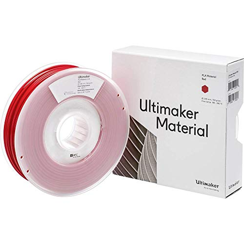 Ultimaker Filament PLA - M0751 Red 750 - 211399 PLA 2.85 mm Rot 750 g