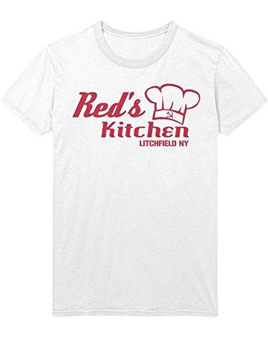 T-Shirt Orange is The New Black RED\'S Kitchen C210049 Weiß XL