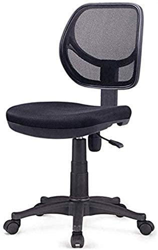 Armchairless Computer Chair Low-Back Computer Task Office Desk Chair Swivel Casters Home Desk Chair Lift Office Chair Armchair