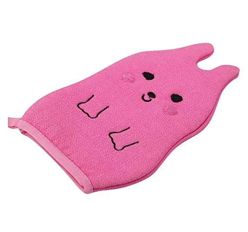 Serviette de bain pour enfants, gants de bain exfoliants pour bébé, dessin animé mignon, C03
