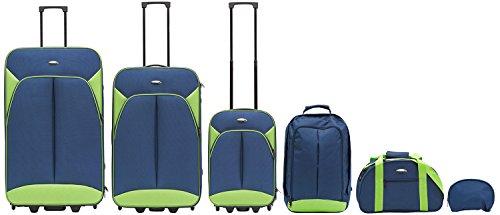 Packenger Value Traveller Valigia 203-005-02, 82 cm, 115 L, Blu