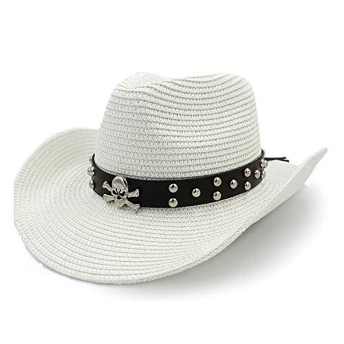 Sombrero De Panamá Con Diseño De Remache, Sombrero Para El Sol, Sombrero...