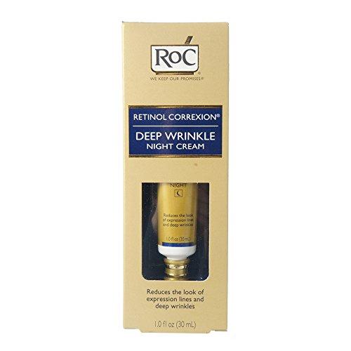 Roc Retinol Correxion Deep Wrinkle Night Cream 1oz (2 Pack)
