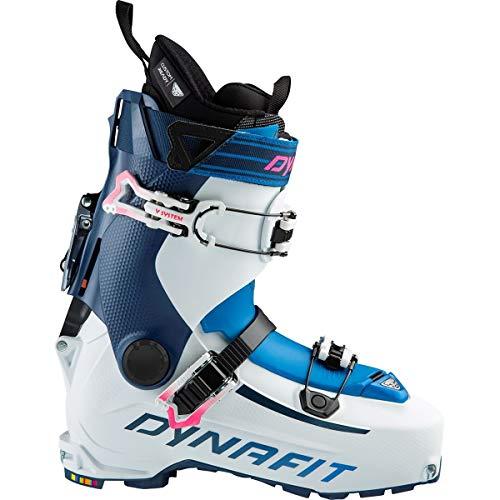 Dynafit Hoji PU Alpine Touring Ski Boot - Women's White/Poseidon, 22.5
