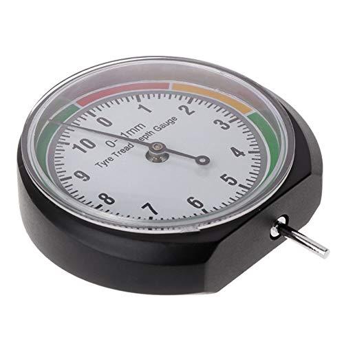 ZXLIFE@@@ Draagbare dieptemeter, dieptemeter, facile, nauwkeurige meting, voor verwerking van hout/verwerking van metalen