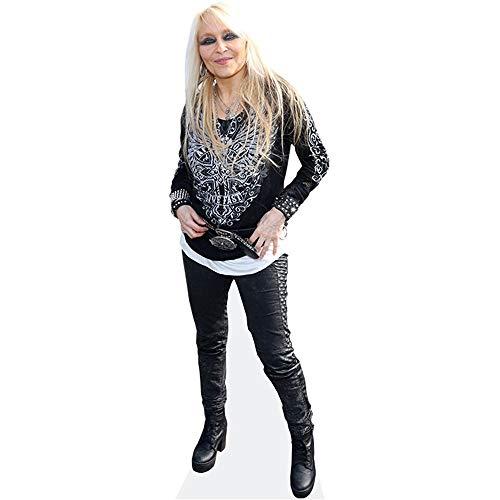 Celebrity Cutouts Doro Pesch (Leather Trousers) Pappaufsteller lebensgross