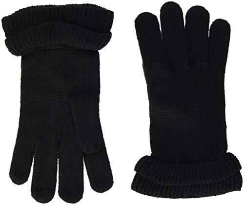 PIECES Damen PCFINA GLOVES Handschuhe, Schwarz (Black Black), One Size