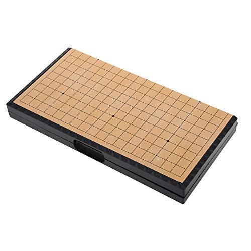 NITRIP Go Game Set, Go Game, Magnético Pente Juego de Mesa de Damas Chinas, Exquisito portátil para niños y Adolescentes