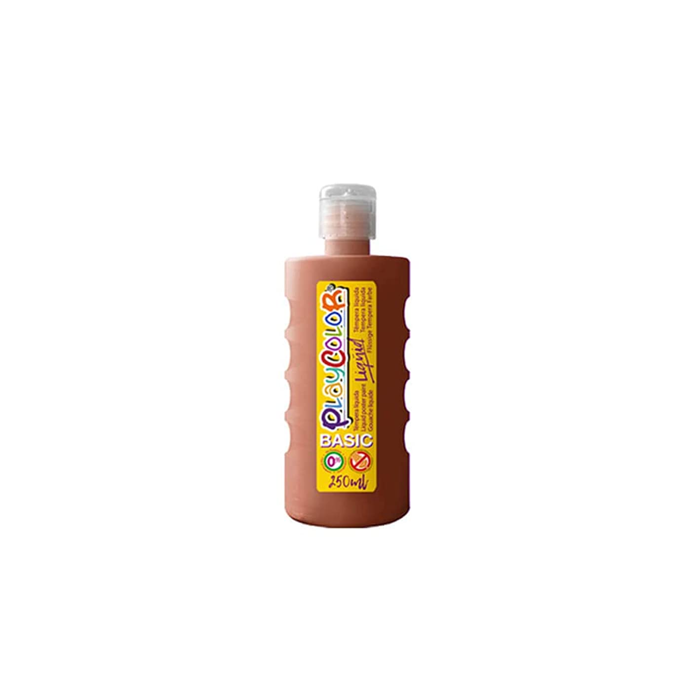 PlayColor 19311 Gouache Paint Liquid, Brown
