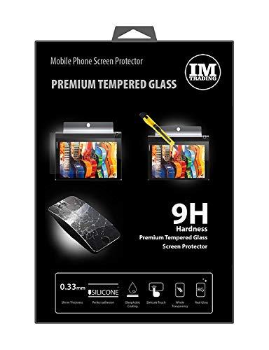 ENERGMiX Bildschirmschutzglas kompatibel mit Lenovo Yoga TAB 3 YT3-X50L (10.1 Zoll) Panzer Hartglas Schutz Glas extrem Kratzfest Sicherheitsglas