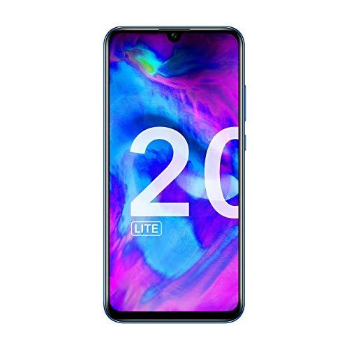 Honor 20 Lite - Smartphone de 6.21' (RAM de 4 GB, Memoria de 128 GB, Dual SIM, Cámara Frontal de 32 MP, Triple Cámara Trasera 24+8+2MP, Android), Color Azul [Versión Española]