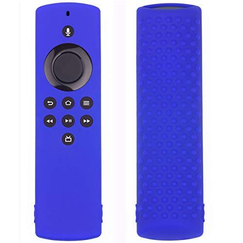 SHOTAY Custodia in Silicone Forr Amazon Fire TV Stick Lite Telecomando Custodia Protettiva Antiurto Antiurto di Ricambio Blu