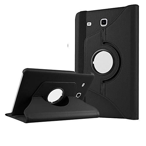 DETUOSI Cover per Samsung Galaxy Tab E 9.6 Cover 360° Gradi Supporto Duro Antiurto Custodia per SM T560
