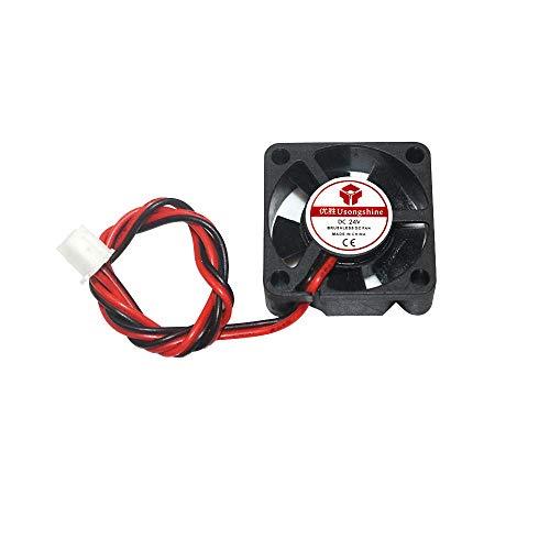 Meijin 5 accesorios para impresora 3010 ventilador de refrigeración de 24 V 30 x 30 x 10 mm con cable Dupont de 2 pines para impresora 3D