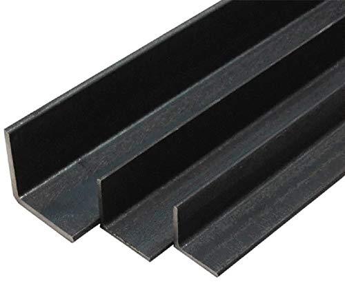 Barra angolare in ferro GREZZO (40X40X1X2000 mm (lato x lato x spessore))