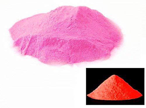 KIRALOVE Pigmento en Polvo fosforescente - Fucsia> Naranj