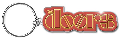 Doors (The) - Logo (Portachiavi Metallo) Rock Merchandising Ufficiale