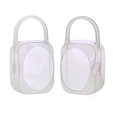 Pacifier Box Nipple Shield Case Pacifier Holder -2 PACK
