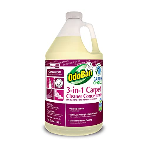 OdoBan 960262-G4 Earth Choice 3-in-1 Carpet Cleaner Concentrate, One Gallon