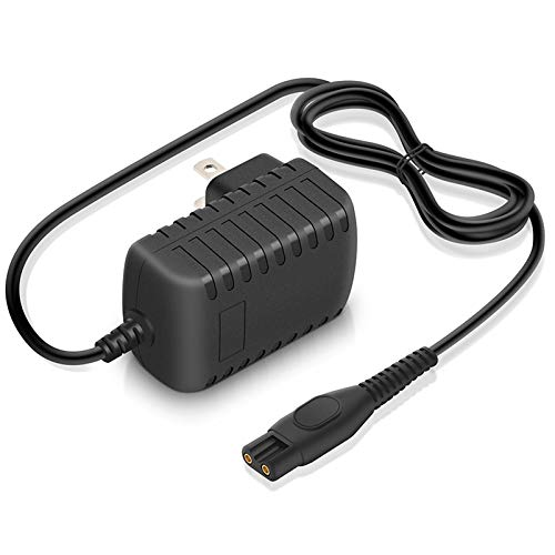 15V Power Cord for Philips Norelco HQ8505 Shaver Charger for 9000 7000 5000 4000 3000 Series Razor AC Adapter for Philips Multigroom Beard Trimmer Replacement Arcitec Power Supply