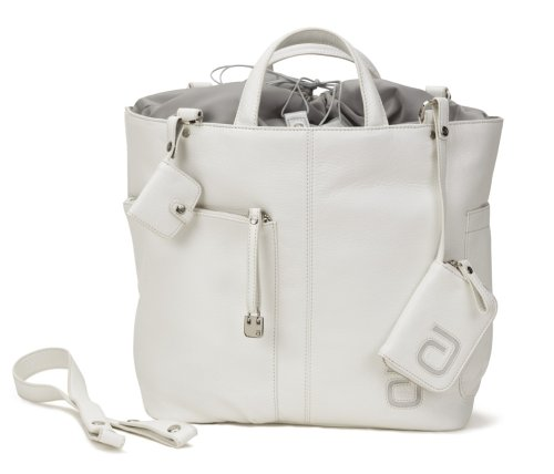 Allerhand AH-CC-TT-02 011 - Wickeltasche, City Charm Tara Tote Bag white