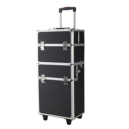 Generic Ley cosmetico trolley Olley Co cosmetici bellezza trolley C extra large makeup NG Vanity B box Storage P case Hairdres di parrucchiere