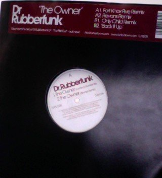 Dr. Rubberfunk - The Owner - GPS Recordings