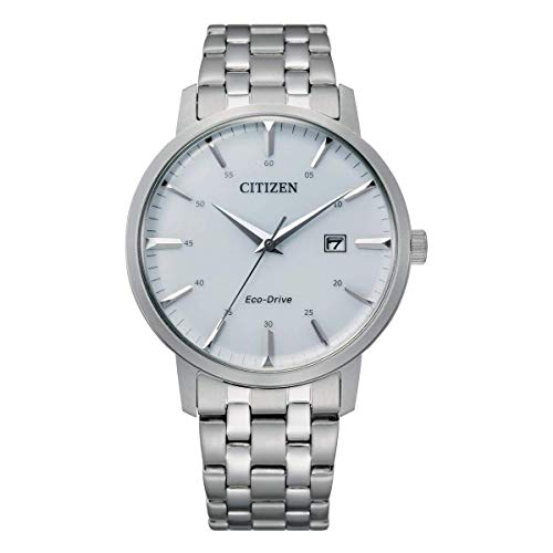 Citizen Reloj Analógico para Hombre de Eco-Drive con Correa en Acero Inoxidable BM7460-88H