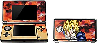 Skinit Dragon Ball Z Vegeta Skin for 3DS (2011) - Officially Licensed Dragon Ball Z Gaming Decal - Ultra Thin, Lightweight Vinyl Decal Protection